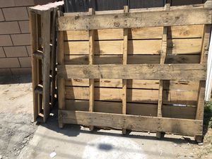 Wood pallets for Sale in Montebello, CA