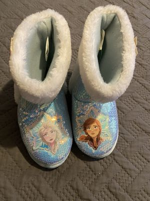 girl frozen slippers for Sale in Long Beach, CA
