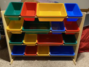 Mint condition 16 bin toy organizer for Sale in Modesto, CA