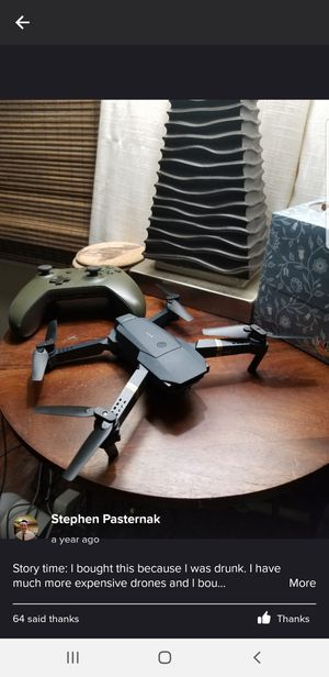 Drone E70(never used, price negotiable) for Sale in Kirkwood, NJ