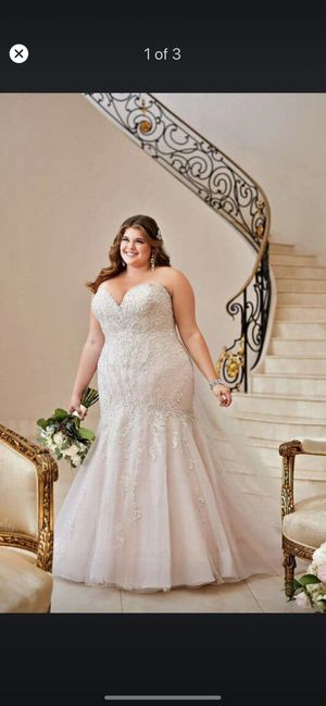 Stella York Plus Size Wedding Dress for Sale in Hampton, VA