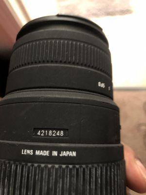 sigma dg 70-300mm camera lens for Sale in Atlanta, GA