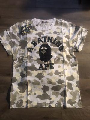 Camo BAPE Shirt for Sale in Detroit, MI