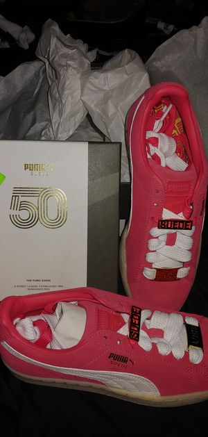50th anniversary suedes woman's 7.5 hot pink NIB for Sale in Brockton, MA