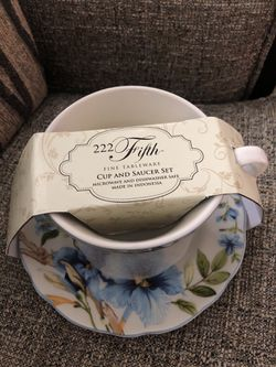 2 PSC Tea Cup With Saucer. Please see all the pictures and read the description for Sale in Lincolnia,  VA