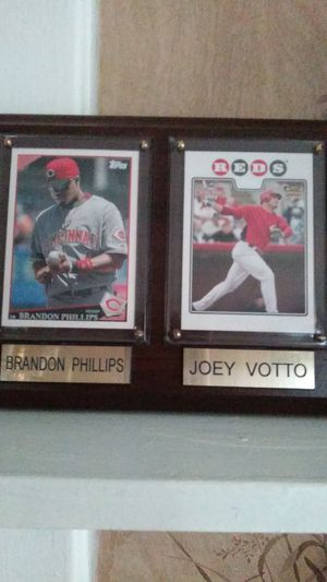 Baseball cards. Brandon Phillips and Joey Votto for Sale in Cincinnati, OH