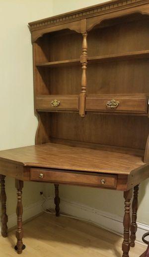 Reduced price: Antique maple corner desk for Sale in Washington, DC