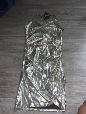Gold Metallic Dress for Sale in Houston, TX
