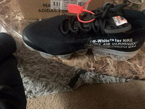 Black OFF-WHITE x Air VaporMax 'Part 2' for Sale in Tyler, TX