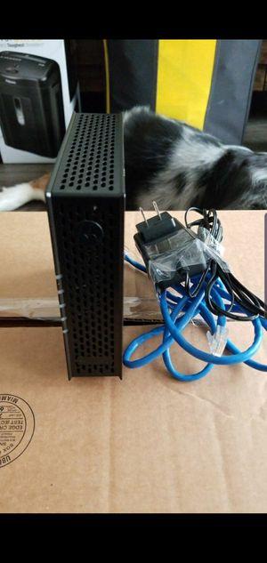 Docsis 3.0 Motorola cable modem for Sale in Winter Park, FL