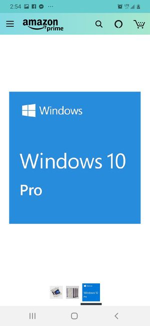 Windows 10 Pro USB Flash Drive - 64 bit / 32 bit for Sale in Jacksonville, FL