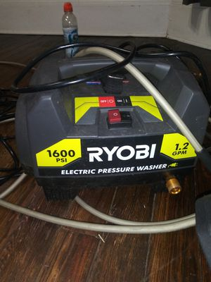 Ryobi electric pressure washer for Sale in Cleveland, OH