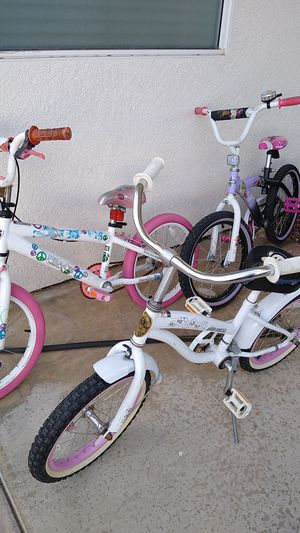 """Girls Bikes - 16"""" and 18"""" for Sale in Corona, CA"""