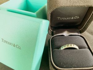Tiffany & Co Platinum Paloma Picasso True Love 24-Hour wedding Band (10.5) for Sale in Lafayette, CO