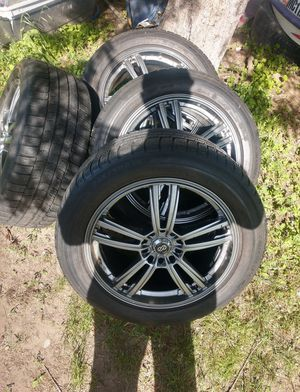 "Oem universal 5 bolt 18"" rims for Sale in MI, US"