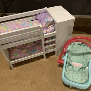 American Girl Bitty Baby Carrier And More for Sale in Maricopa, AZ