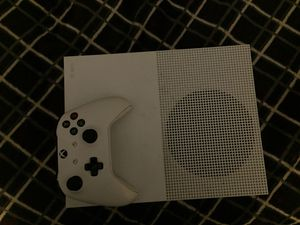 Xbox One S + 1 Controller + the HDMI cord and the plug cord for Sale in Brockton, MA