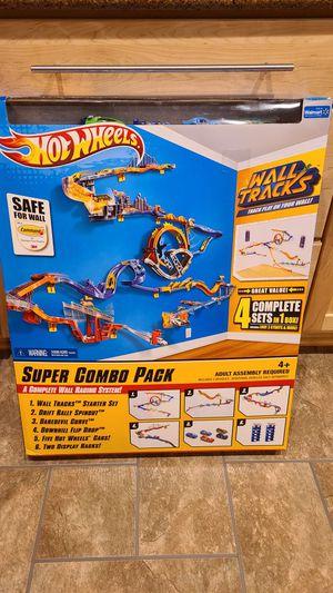 Hot Wheels Wall Tracks combo set for Sale in Hampton, VA