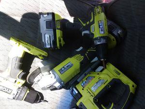 Ryobi power tools for Sale in Kent, WA