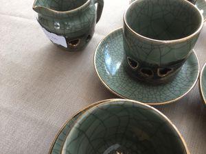 Vintage SOMAYAKI green tea set. for Sale in Payson, AZ