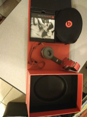 Dr. Dre beats headphones red solo special edition for Sale in Casa Grande, AZ