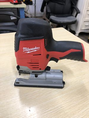 Milwaukee M12 12-Volt Lithium-Ion Cordless Jig Saw (Tool-Only) for Sale in Arlington, TX
