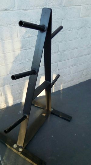 Exercise Weight Plate Tree Barbell Rack for Sale in Peachtree Corners, GA