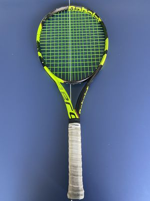 Babolat pure aero tour    4 3/8 grip   tennis racket for Sale in Downey, CA