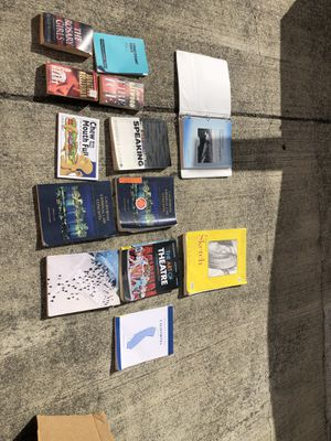 College textbooks and novels for sale for Sale in Hayward, CA
