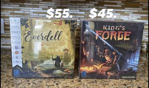 Everdell and Kings Forge Board Game Card table top for Sale in Windermere, FL