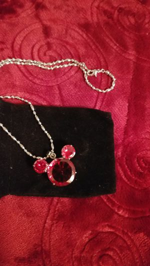 Mickey mouse necklace for Sale in Salt Lake City, UT