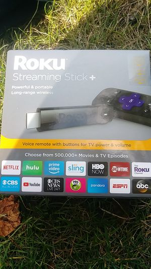 ROKU STREAMING STICK + for Sale in Redmond, WA