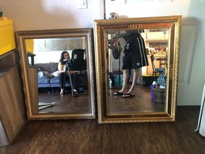 Antique mirrors 32x26 and 35x26 1/2 for Sale in Chino Hills, CA