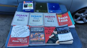 Assorted Textbooks (half NEW & half USED) for Sale in Whittier, CA