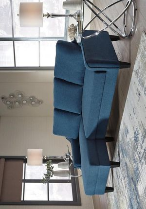 Jarreau Blue Sofa Chaise Sleeper 11502 VENDOR ASHLEY for Sale in Houston, TX