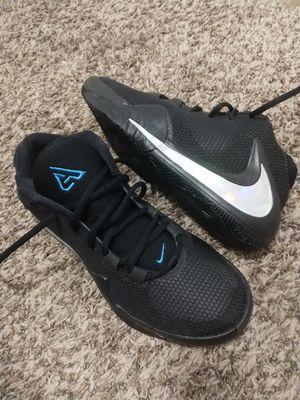 Size 7.5 Nike Zoom Greak Freak 1 Black Iridescent Men Basketball Shoes for Sale in Kent, WA