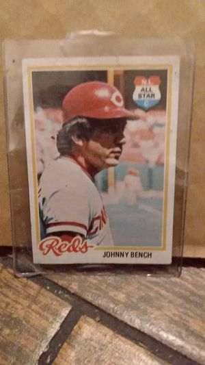 JOHNNY BENCH All - Star card for Sale in Westminster, CA