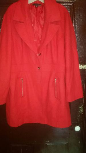 Women Red Coat Size 3x for Sale in Pittsburgh, PA