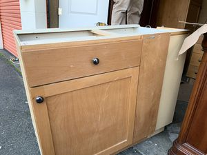 Cabinets for a small kitchen for Sale in Burien, WA