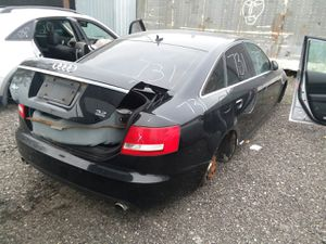 Selling Parts for a Black 2007 Audi A6 STK#731 for Sale in Warren, MI