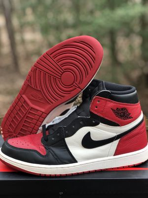 Jordan 1 Bred Toe size 12 for Sale in Alexandria, VA