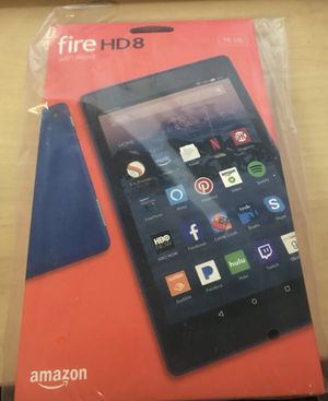 Kindle Fire HD 8 with Alexa 16gb new in box for Sale in Shoreline, WA