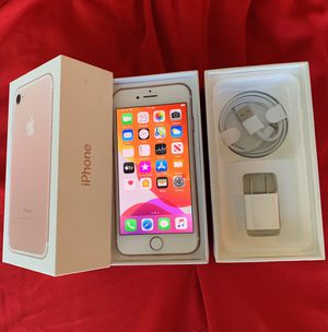 iPhone 7 Gsm unlock 256GB Rose Gold for Sale in Glenview, IL