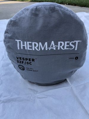 THERM A REST VESPER 32 Ultralite quilt. for Sale in Virginia Beach, VA