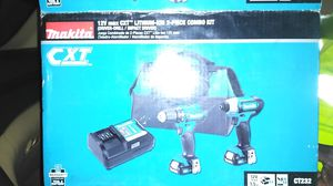 Makita 12-volt Max cxt lithium-ion 2-piece combo kit for Sale in Los Angeles, CA