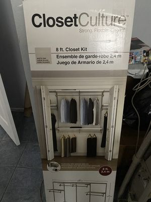 Closet organizer ( new never opened) for Sale in Henderson, NV