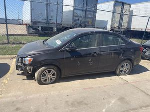 2015 Chevy sonic LT aúto parts for Sale in Dallas, TX