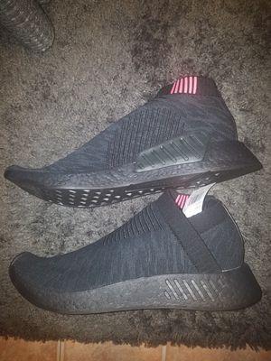 Adidas nmd_cs2 pk triple black mens shoes size 11 for Sale in Las Vegas, NV