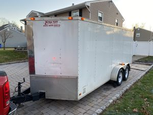 7x16 enclosed trailer for Sale in North Plainfield, NJ