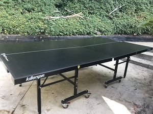 Free KillerSpin Ping Pong Table for Sale in Los Angeles, CA